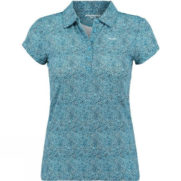 Ayacucho Womens Betty Polo Lots of Dots Ice