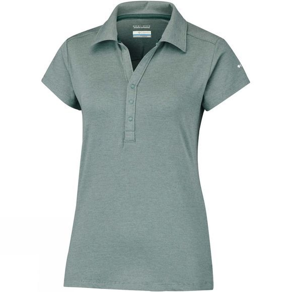Columbia Womens Shadow Time Polo Pond