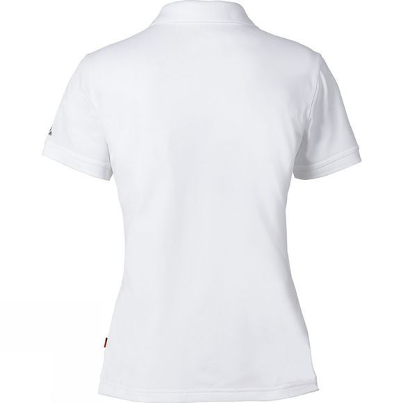 Vaude Womens Marwick Polo Shirt II White
