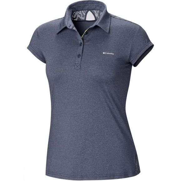 Columbia Womens Peak to Point Polo Nocturnal