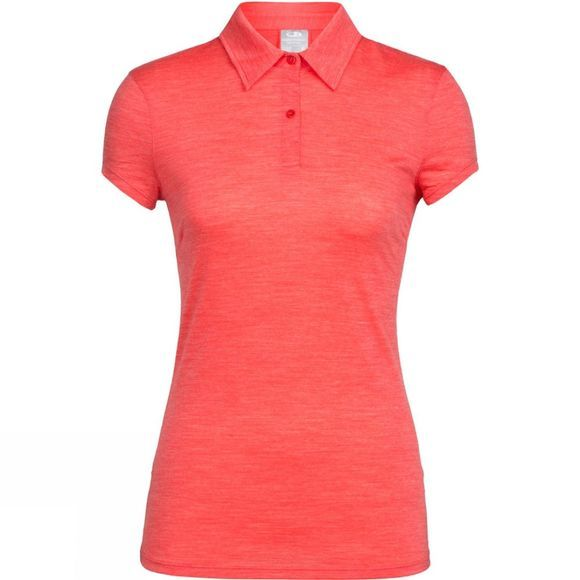 Womens Sphere Short Sleeve Polo Shirt