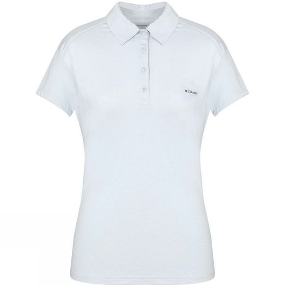Columbia Womens Firwood Camp Polo Cirrus Grey Hea