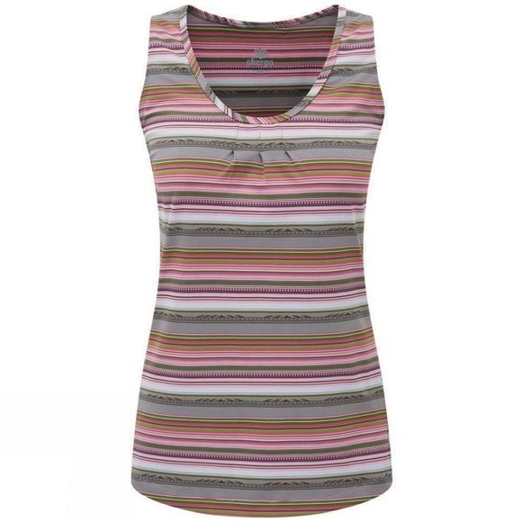 Sherpa Womens Preeti Tank Monsoon Grey