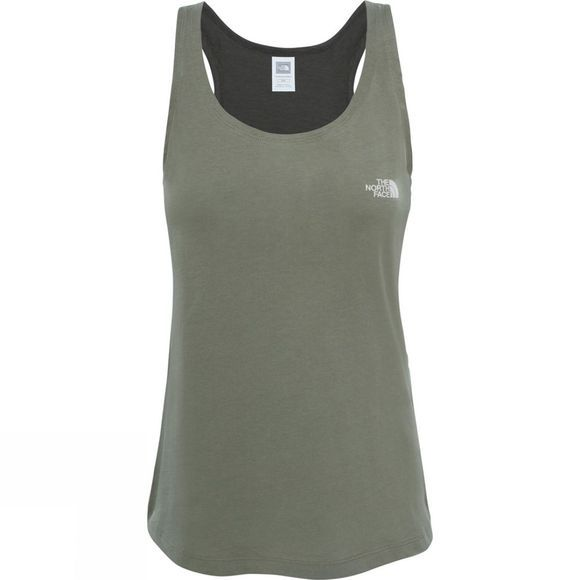 The North Face Womens Redbox Tank Top Deep Lichen Green