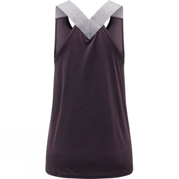 Haglofs Womens Ridge Tank Top Acai Berry