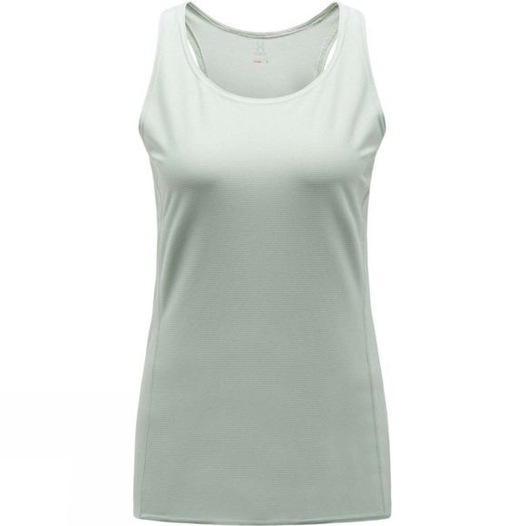 Haglofs Womens L.I.M Tech Tank Top Blossom Green