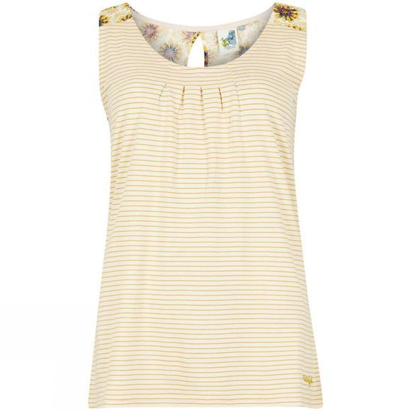Weird Fish Womens Nilly Jersey Vest Bamboo