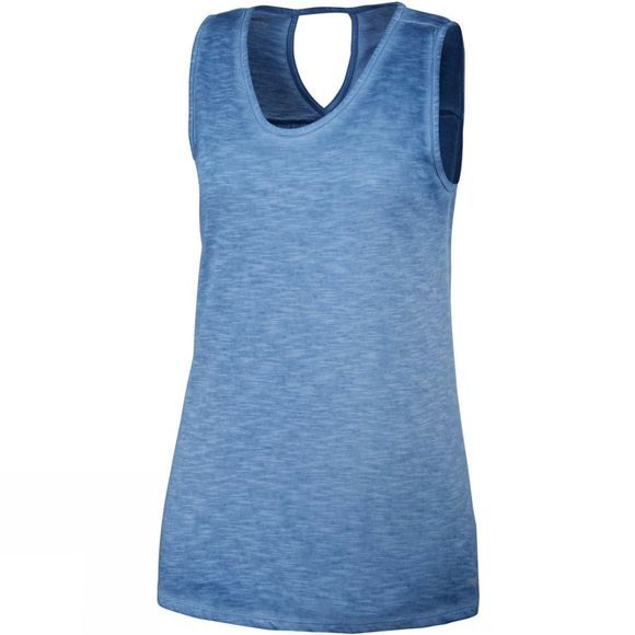 Columbia Womens Elevated Tank Blue Dusk