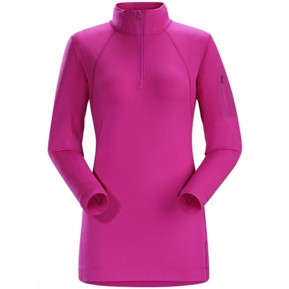 Womens Rho LT Zip Neck