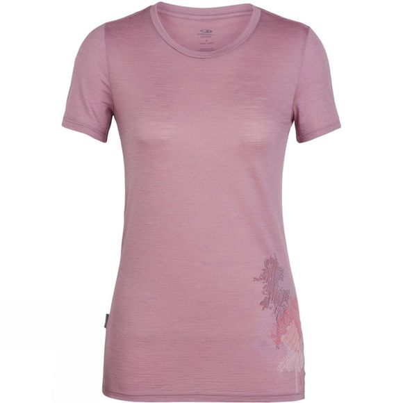 Womens Spector Short Sleeve Crewe Top