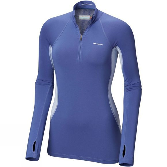 Womens Midweight Stretch Long Sleeve 1/2 Zip