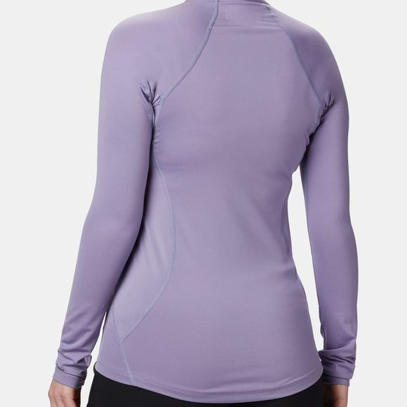 Columbia Womens Midweight Stretch Long Sleeve 1/2 Zip Dusty Iris