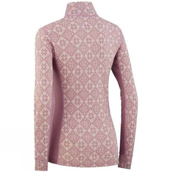 Kari Traa Womens Rose Half Zip Top Petal