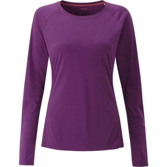 Womens Aerial Long Sleeve Tee