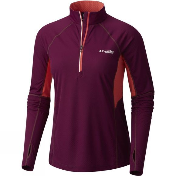 Womens Titan Ultra Half Zip Shirt