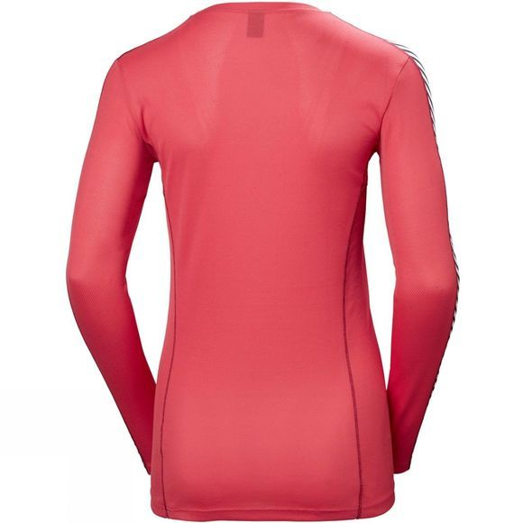 Helly Hansen Womens Lifa Crew Top Goji Berry