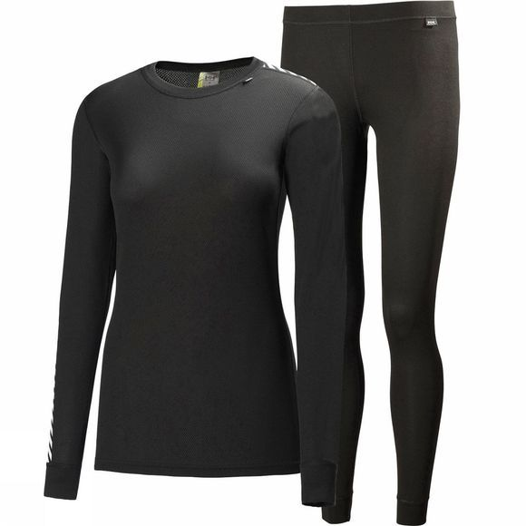 Helly Hansen Womens Comfort Light Set Black