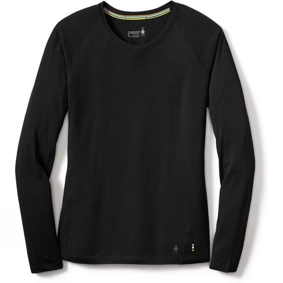 SmartWool Womens Merino 150 Baselayer Long Sleeve Black