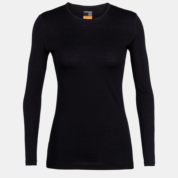 Womens 200 Oasis Long Sleeve Crewe Top