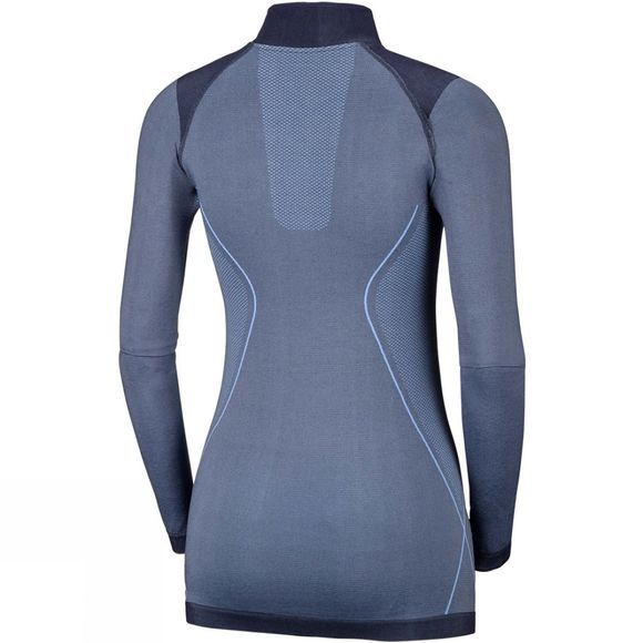 Columbia Womens Engineered Half Zip Bluebell