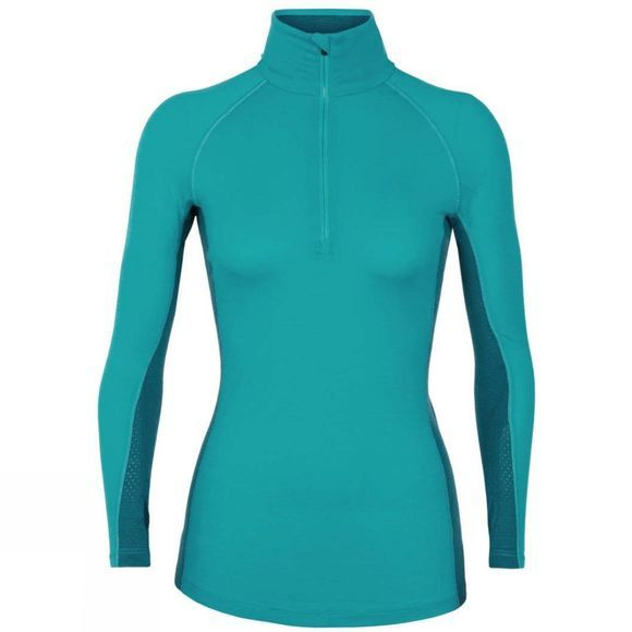Womens 200 Zone LS Half Zip Top