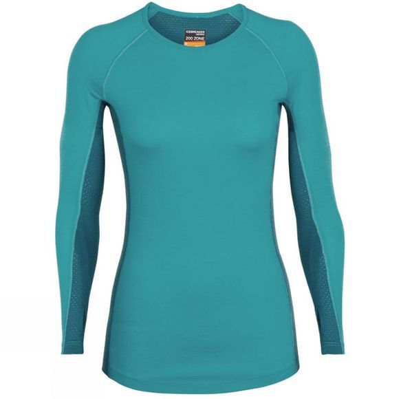 Womens 200 Zone LS Crewe Top