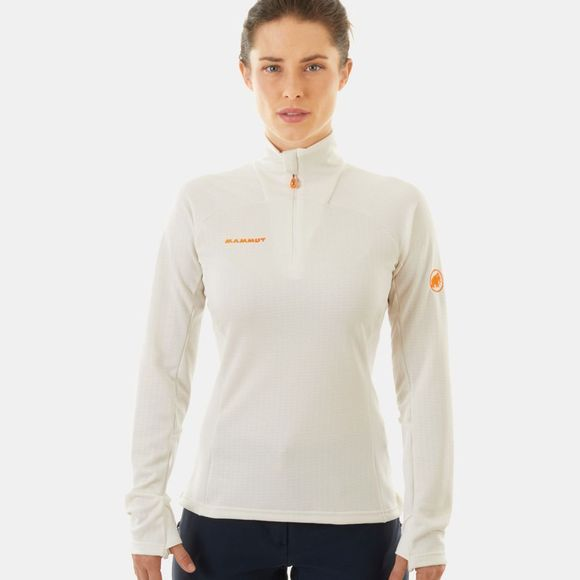 Mammut Womens Moench Advanced Fleece Bright White