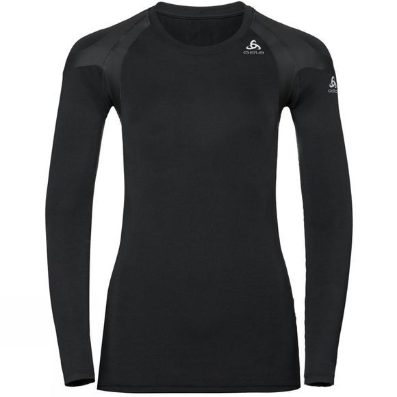 Odlo Womens Active Spine Light Long Sleeve Base Layer Black