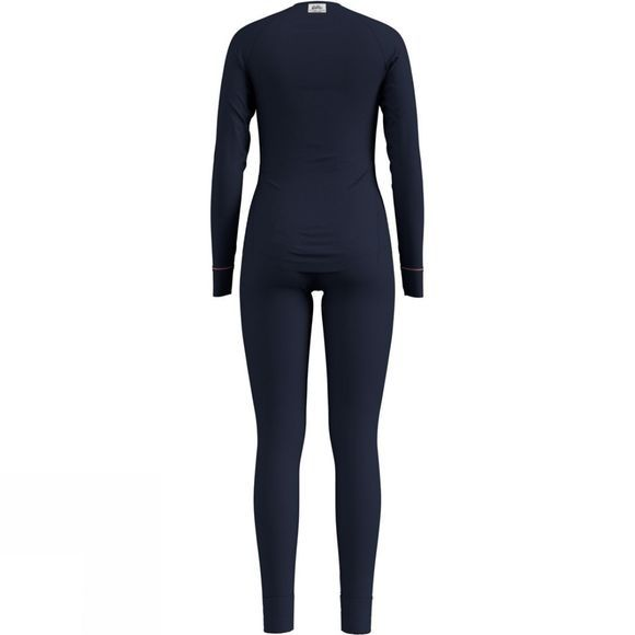 Odlo Womens Heritage Active Warm Base Layer Set Diving Navy