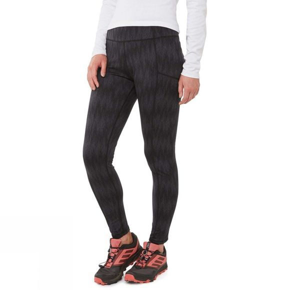 Craghoppers Womens Winter Trekking Tights Black Print