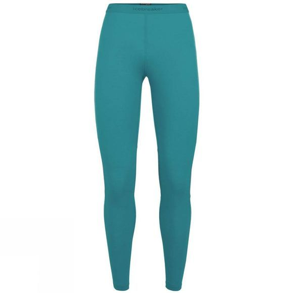 Icebreaker Womens 200 Zone Leggings Arctic Teal/Kingfisher/Dew