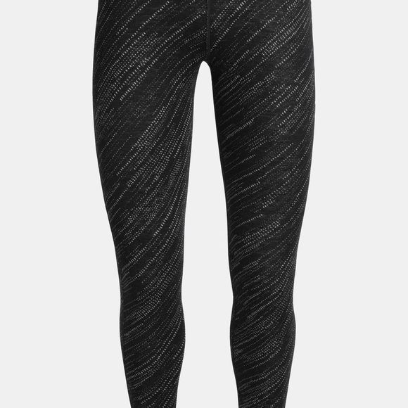 Icebreaker Womens 250 Vertex Leggings Snowstorm Black