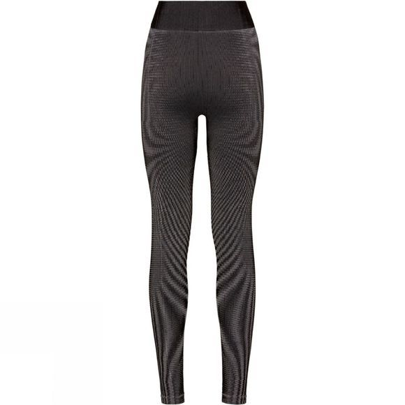 Odlo Womens Futureskin Base Layer Pants Black - White