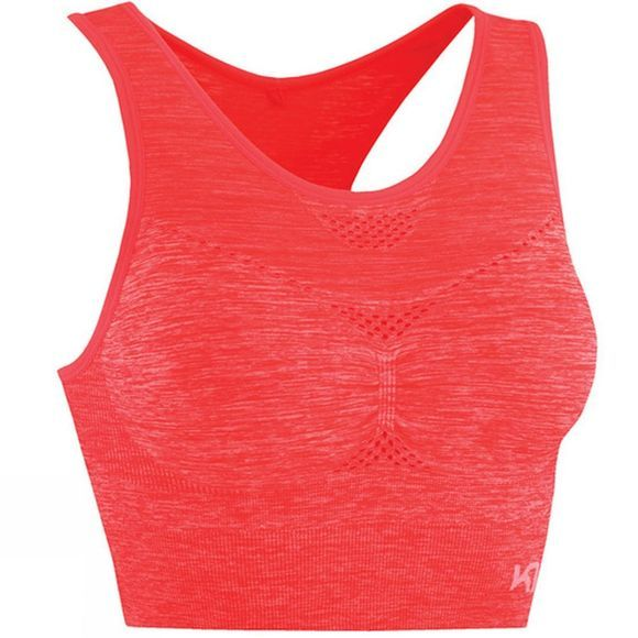 Kari Traa Womens Ness Sports Bra Coral