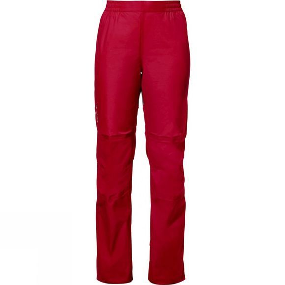 Vaude Womens Drop Pants II Indian Red
