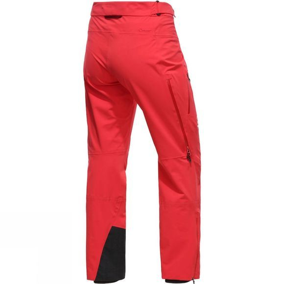 Haglofs Womens L.I.M.Touring Proof Pant Hibiscus red