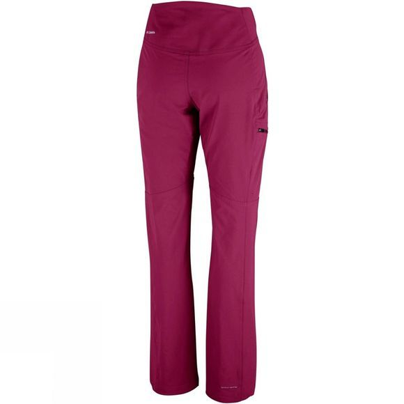 Columbia Womens Back Up Passo Alto Pants Wine Berry