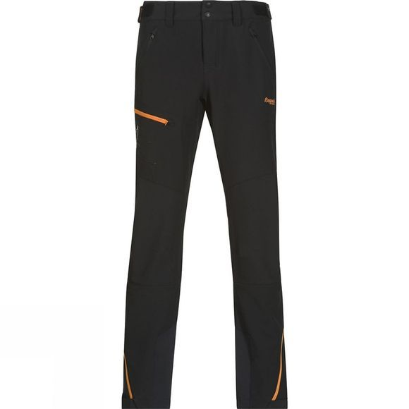 Bergans Womens Osatind Pants Black / Pumpkin