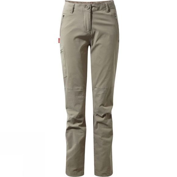 Craghoppers Womens NosiLife Pro Trousers Mushroom