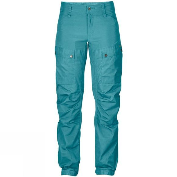 Fjallraven Womens Keb Trousers Curved Lagoon