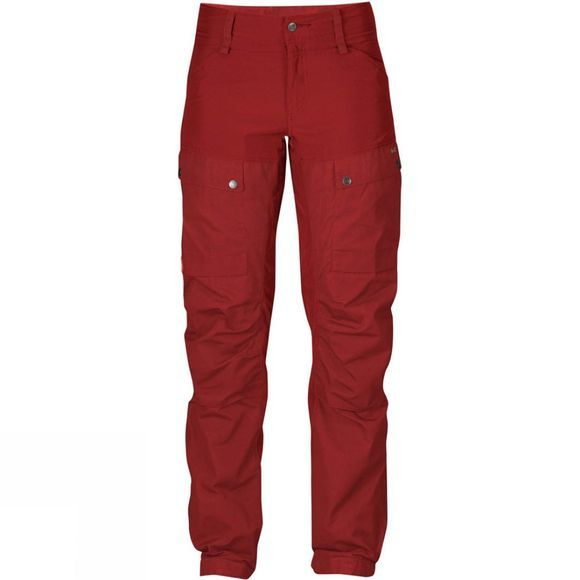 Fjallraven Womens Keb Trousers Curved Lava