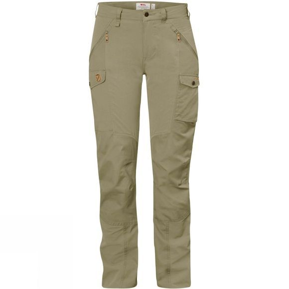 Fjallraven Womens Nikka Trousers Curved Savanna