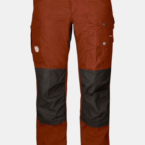 Fjallraven Womens Barents Pro Trousers Autumn Leaf-Stone Grey
