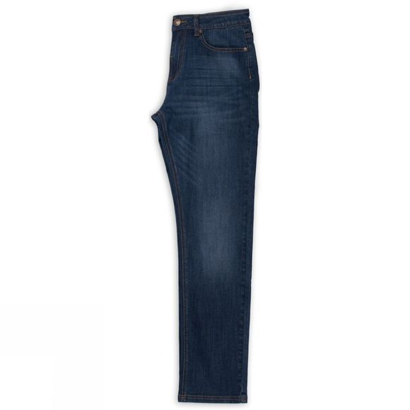 Brakeburn Womens Slim Fit Jeans Blue