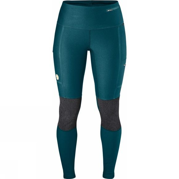 Fjallraven Womens Abisko Trekking Tights Glacier Green