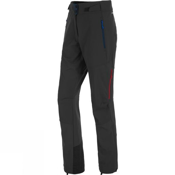 Salewa Womens Ortles DST Regular Pants Black Out