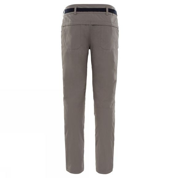 The North Face Womens Exploration Insulated Pants Weirmaraner Brown