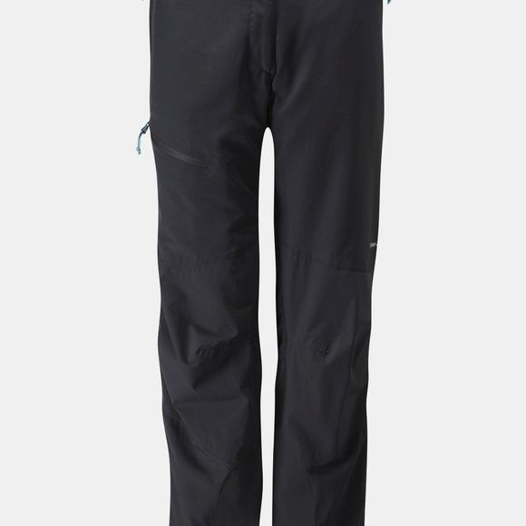 Rab Womens Vapour-Rise Guide Pants Black/ Black