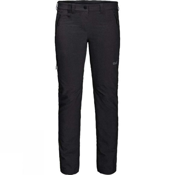 Jack Wolfskin Womens Activate Sky Trousers Black