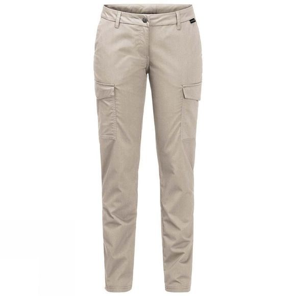Jack Wolfskin Womens Liberty Cargo Pants Light Sand